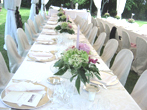Tuscany Wedding buffet table: Villa Catignano