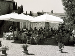 Tuscany wedding: internal view of Fattoria Catignano